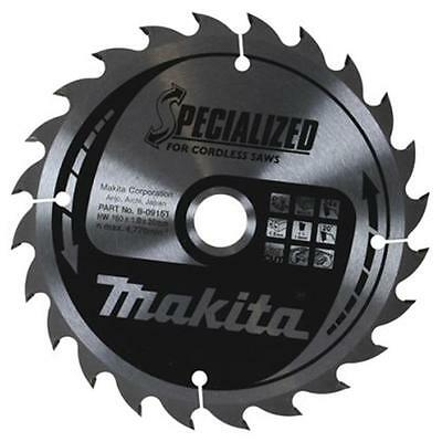 Makita B-09167 18 Volt Cordless Circular Saw Blade Bss610 Dss610 Dss611 165Mm