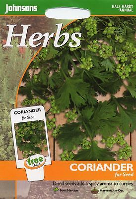 Johnsons Seeds - Pictorial Pack - Herb - Coriander for seed - 150 Seeds