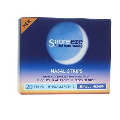 Snoreeze Nasal Strips Small/ Medium Pack of 20