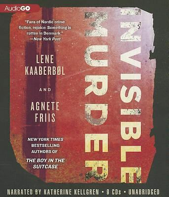Invisible Murder by Agnete Friis and Lene Kaaberb�l (2012, CD)