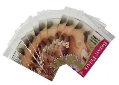 Lot Of 12 Packs Women's Premium Adhesive Breast Petals Nipples Cover Beige #2006