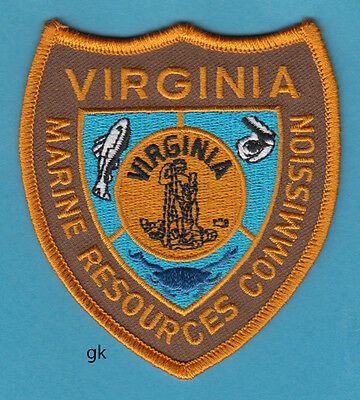 Virginia Marine Resources Commission Police  Shoulder Patch