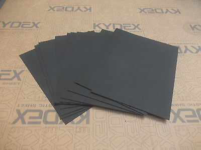 11 Pack 2 mm A4 KYDEX T Sheet 297 mm x 210 mm P1 BLACK, Gun holster-Knife Sheath