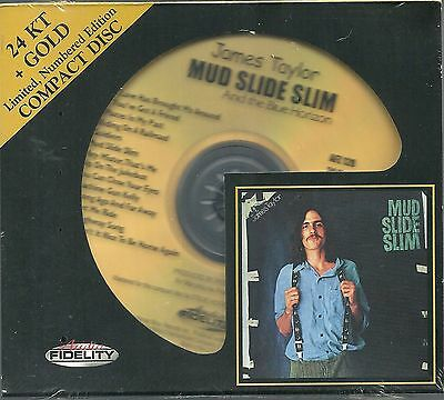 Taylor,James Mud Slide Slim 24 Karat Gold CD Audio Fidelity NEU OVP Sealed AFZ