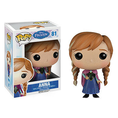 FUNKO MIB # 81 Disney Frozen Anna Pop! Vinyl Figure