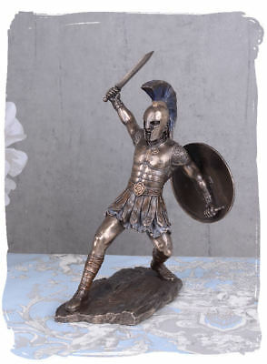 Hector Sculpture Greek Mythology Hero Troy Trojan-War Statue Sword Warrior