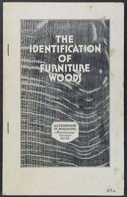 Identification of Traditional Furniture Woods Cabinetmaking Wood