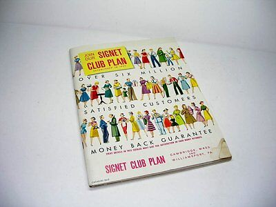 VINTAGE EARLY 1950'S SIGNET CLOTHES AND HOUSEWARES HOUSEHOLD CATALOG