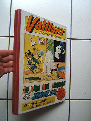 RELIURE  VAILLANT 2 SERIE n°  11 ( numeros  708 A 719  )