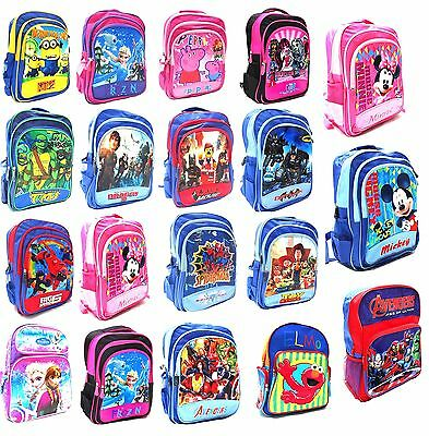 New Large Kids Bag Backpack Boys Girls School Preschool Christmas Toys Gift Bday