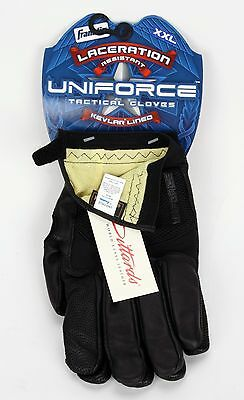 Franklin Uniforce Laceration Resistant Kevlar Lined Tactical Gloves XXL