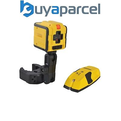 Stanley Cubix INT177340 Self Levelling Cross Line Laser Level S100 Stud Detector