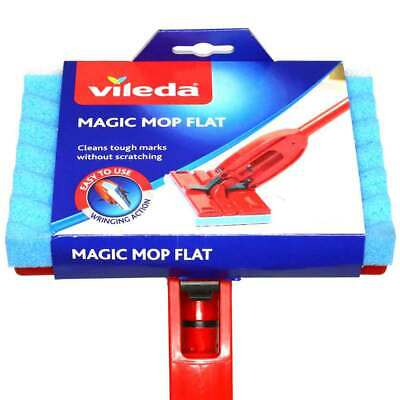 Vileda Magic Mop Flat Sponge Choice of Complete Mop or Refill (One Supplied)