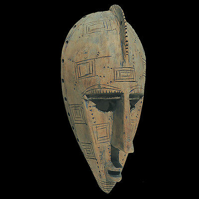 an authentic old african mask maraka mali