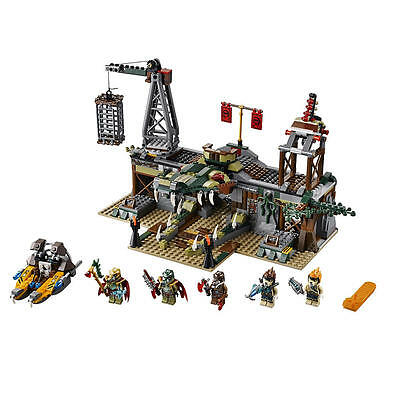 LEGO Legends of Chima The Croc Swamp Hideout 70014