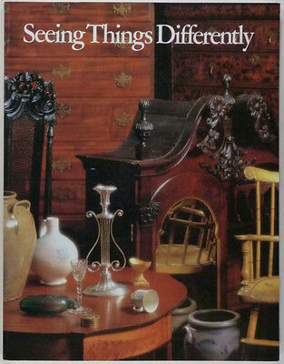 HOW TO SEE AMERICAN ANTIQUE FURNITURE & ANTIQUES -WINTERTHUR COLLECTION PRIMER
