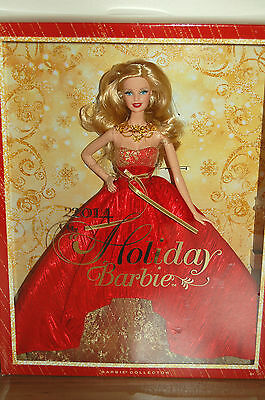 2014 Blonde HOLIDAY Barbie - BRAND NEW RELEASE