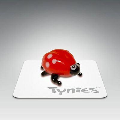 KAY Ladybug animal TYNIES Tiny Glass Figure Figurines Collectibles NEW 002