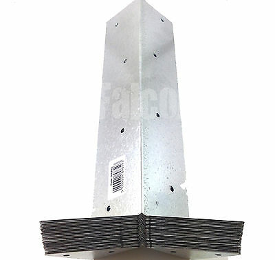 50 x ARRIS GALVANISED RAIL BRACKETS - 300mm - FENCE - FENCING  - POST - SUPPORT