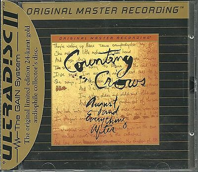Counting Crows August And Everything After MFSL Gold CD UII mit J-Card