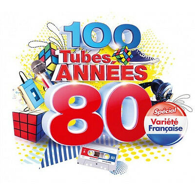 100 Tubes Annes 80 Special Variete Francaise   (CD 5 disc)  2014 NEW