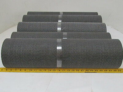 "1-Ply Material Handling Conveyor Belt BB Bare x Bare Coated Top 24""x33' 5-Rolls"