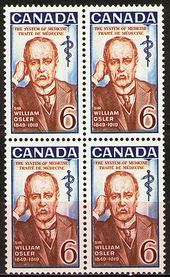 Canada 1969 Sc495 $ 1.0 Mi437 1.6 MiEu 1bl mnh Sir William Osler, physician