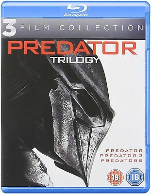 Predator Trilogy 1-3 Blu Ray Complete Set Collection 1 2 3 BRAND NEW Free Ship