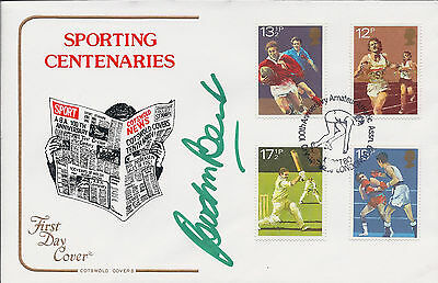 Gordon BANKS Signed Autograph FDC First Day Cover COA AFTAL 1966 World Cup