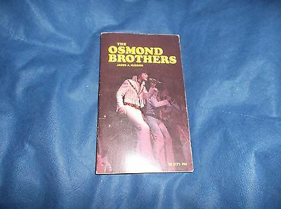 "1972 Scholastic Books ""The Osmond Brothers"" By James Hudson PB Book"