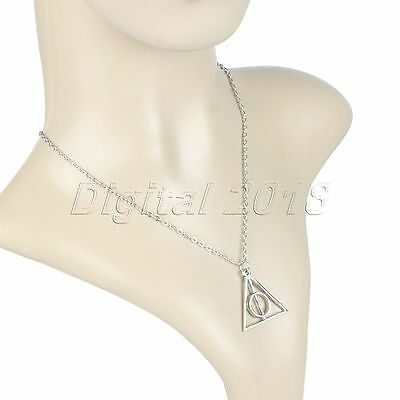 Fashion Harry Potter Deathly Hallows Hermione Granger Pendant Chain Necklace