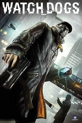 Watch Dogs : Cover - Maxi Poster 61cm x 91.5cm (new & sealed)