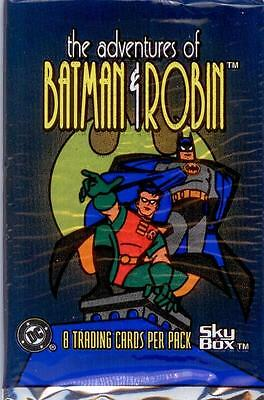 "Batman & Robin ""The Adventures Of"" 9 Sealed Packs"