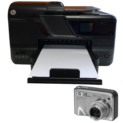 HP OfficeJet Pro 8600 CM749A N911a + HP Digitalkamera R817 Drucker Kamera