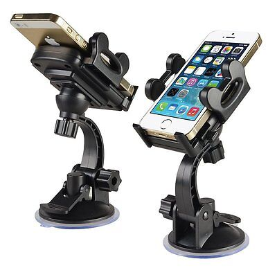 2x Windshield Adjustable Car Mount Holder Stand Cradle For iPod Touch 4G 4th 4