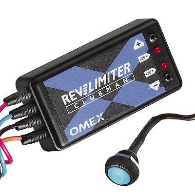 OMEX Rally/Motorsport Car Clubman Rev Limiter With Launch Control - Twin Coil