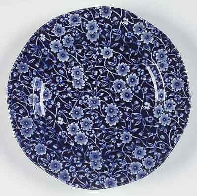 Staffordshire CALICO BLUE (BURLEIGH STAMP) Salad Plate 5970813