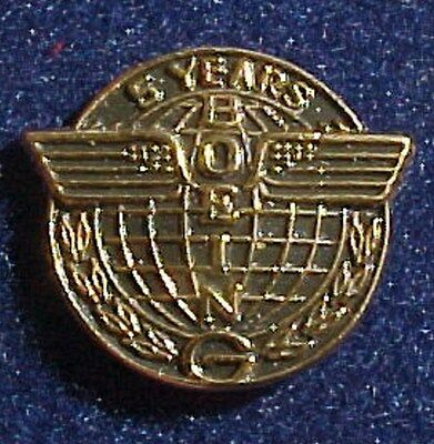 Boeing Aircraft Co. 5 Year Service Pin