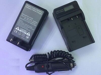Battery Charger +LCD fòr Canon BP-511/535 EOS 5D 10D 20D 30D 40D 60D 300D CAMERA