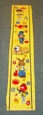MAGIC ROUNDABOUT Height Measuring Cloth Chart