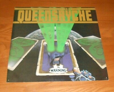 Queensryche The Warning 2-Sided Flat Square Promo 1984 Poster 12 x 12