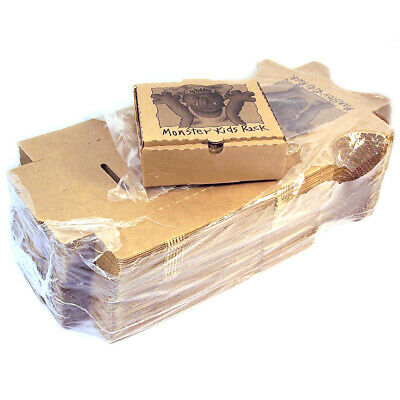 "Bundle Of 50 Pizza Boxes 7"" x 7"" x 2 ¼"""
