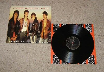 Pseudo Echo Love An Adventure Vinyl LP + Inner Sleeve - Near Mint
