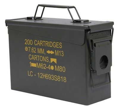 NEW Ammo Can Olive Drab .30 Cal Military Steel A19A1 Rothco 2105