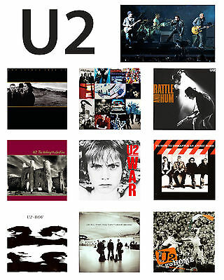 U2 - Album Cover Poster, 8x10 Color Photo