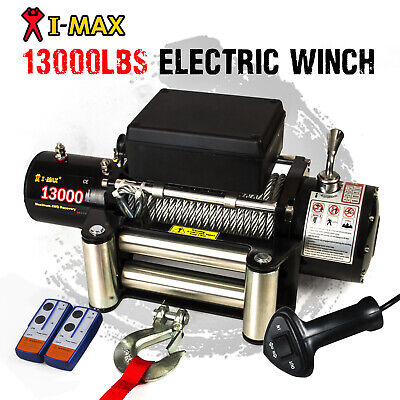 12V Wireless Steel Cable 13000LBS, 5897KGS Electric Winch 4WD 4x4 shipafter xmas