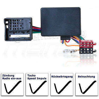 CAN Bus Interface OPEL Astra H Corsa C D Vectra Meriva Radio Adapter Kabel ISO