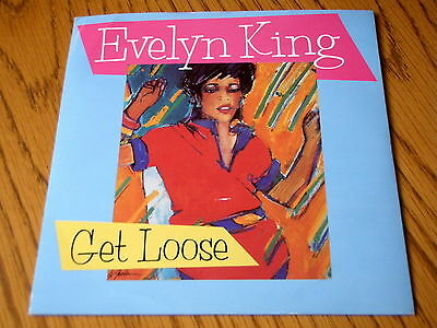 "Evelyn King - Get Loose  7"" Vinyl Ps"