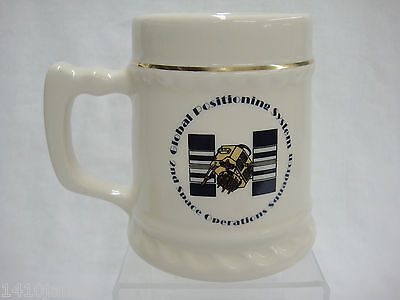 2nd Space Operations Squadron Global Positioning System GPS Mug Stein