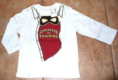 NEW The Children's Place 18-24 months 2T Super Hero In Training Shirt